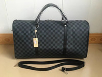 LOUIS VUITTON SUPREME Handbags Men Leather Luggage Bag Duffle Bag For Women  Shoulder Bags MICHAEL 0 KOR Tote Travel Bags KEEPALL 55 N41356 LV GUCCI YSL d779c0ebd3