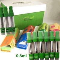 Smartbud Smart Cart Magenetic Packung Vapes Ölpatronen 0.8ml Leere Vape Pens 510 Cartridge Keramikspule Vape Carts Smart Bud mit Box