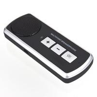 مكبر الصوت غير اليدوي بلوتوث سماعة بلوتوث سيارة كيت لاسلكي المتحدث USB متعدد النقاط لالمتنقل الهاتف الخليوي سيارة كيت شحن مجاني