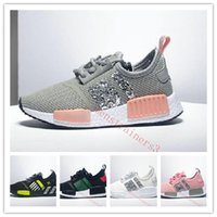 designer kids boy gilrs nmd running casual shoes Children to...