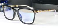 جديد شعبية ريترو الرجال النظارات البصرية oralover الشرير نمط تصميم الرجعية مربع الإطار hd عدسة أعلى جودة يمكن أن تجعل النظارات وصفة طبية