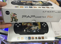 PAP Gameta II 16기가바이트 저장 핸드 헬드 게임 콘솔 휴대용 64 비트 미니 비디오 게임 플레이어 지원 TV 아웃 MP3 MP4 Camere PXP3 볼래요 업그레이드