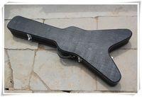 Летающий V Черного Hardcase для специальной гитары Electric, цвет может быть изменен как ваш запрос