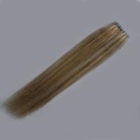 Tape In Echthaarverlängerungen Remy Hair Blonde 100G 40Pcs Blonde Haut Schuss Haarverlängerungen
