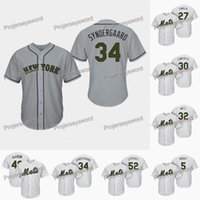 quality design 59119 69bf5 2019 Custom Men Women Youth Majestic NY Mets Jersey #30 ...