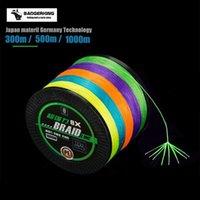 Плетеная рыбалка 8 нитей шнур 300 м 500 м 1000 м многофиламент 10 м / цвет Супер Качество Япония Материал оплет
