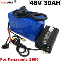 E-велосипед батареи 48 В 30AH электрический велосипед литиевая батарея для 48 В Bafang BBSHD 1500 Вт 2500 Вт двигатель с 5A зарядное устройство Бесплатная доставка