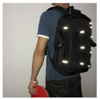 أزياء ظهره الرجال النساء على ظهره النايلون للماء حقيبة الكتف الترفيه حقيبة سفر طالب رسول حقيبة 3M عاكس الظهر 123