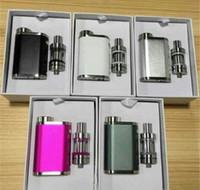 피코 75w 스타터 키트 전자 담배 18650 (510) 스레드 배터리 박스 모드 2ml를 멜로 3 탱크 기화기 vape 펜 상자 모드