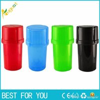 Bottle Shape Plastic Grinder Water Tight Air Tight Medical G...