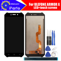 5,5 Zoll ULEFONE ARMOR X LCD-Display + Touchscreen Digitizer Assembly 100% Original neue LCD + Touch Digitizer für ARMOR X + Tools
