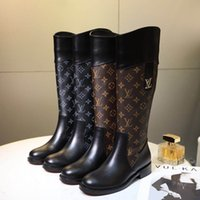 2020 New Fashion Luxury Lady 14 Inch Boots Fashionable Comfortable Soft Leather Material Women's Knight Boots
