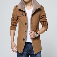 New Arrival Slim Fit Plus Size 4xl Mens Winter Coat Windbrea...