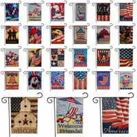 American Garden Flag USA Independence Day Flag US Series Pat...