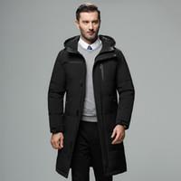 New Winter Parkas Coat Men's Cotton Clothing Men's Fashion Warm Thick Pocket Coat Clothing 2019 DD6MF
