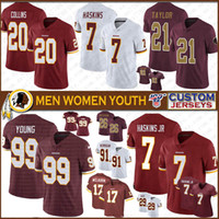 99 Chase Young 21 Sean Taylor Washington Custom Men Women Kids Football jerseys Redskin 17 Terry McLaurin 8 Cousins 11 Jackson 7 Theismann