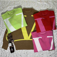 2020ss 셔츠 땀을 봄 가을 슬리브 뜨개질 두꺼운 BB 편지 스웨터 패션 Dropshippng