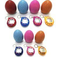 다마고치 전자 완구 깨진 달걀 크리스마스 선물 레트로 가상 애완 동물 휴대용 게임 플레이어 애완 동물 장난감 재미 있은 다마고치 게임