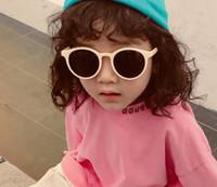 Bambini occhiali da sole 2019 estate nuove ragazze occhiali da occhiali da sole per bambini occhiali da sole bambini rifornimenti per la spiaggia UV protettivi parasole occhiali F5752