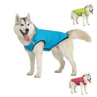 كلب الملابس المعطف مقنعين سترة المطر بذلة ماء الملابس الحيوانات الأليفة السلامة المطر للكلاب الصغيرة المتوسطة جرو هزلي