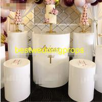 Yeni stil sıcak satış beyaz hint düğün veya altın zihinsel mandap düğün için süslemeleri sütunlar decor0718