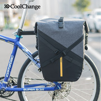 CoolChange Bicycle Bag Waterproof Reflective Large Capacity ...