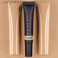 2019 LANGMANNI Viso Make Up Correttore corretivo Acne contour palette Makeup Contouring Foundation Impermeabile Full Cover Dark Circles Cream