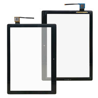 Lenovo 탭에 대 한 태블릿 PC 터치 스크린 E 10.1 인치 x104F 디지타이저 교체 부품 검정