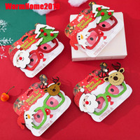100pcs Christmas Decorations For Home Decor New Year Glasses...
