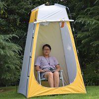 Портативный Палатка Взрослых Туалетная Купание Теплая Сгущает Палатка Открытый Плавательный Простая Гардеробная Мобильный Туалет Водонепроницаемый Рыбалка Палатка DS0542 ZX