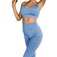 Perimedes Femmes Casual Yoga Set Running BraPants Gym Workout Fitness Tights Sport Wear zwembroek Homme Conseil Shorts # Y10 # 988455