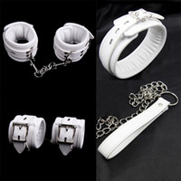 Sweet Magic White Hands Cuffs Sponge Padded Ankle Cuffs   Ne...