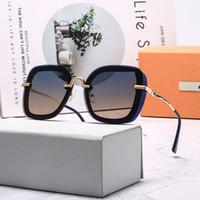 2020 Nuovo polorized 9016 Occhiali da sole di lusso di marca degli occhiali da sole per la Mens Womens adumbral Occhiali 6 colori di alta qualità con la scatola