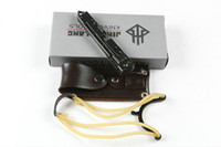 최고 품질 JL-17 전술 접이식 나이프 440C 새틴 TANTO 블레이드 스테인레스 스틸 핸들 옥외 EDC 포켓 칼 소매 상자