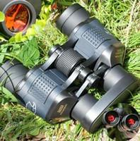 60x60 3000m Ourdoor Водонепроницаемый Телескоп Высокое энергоэффективность Бинокулос Ночное видение Охота Бинокль Монокуляр Телескопио Новый