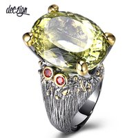 Deczign New Highly Recommend Hot Sell Big Ring for Women Gen...