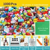 1000 450 piezas Modelo Kits de construcción Bloques clásicos Compatible Bricks Bricks Bulk Juguetes educativos para niños Niños Regalo gratis