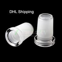 DHL kargo !!! Cam Dönüştürücü Adaptörler Kadın 10mm Erkek 14mm, Kadın 14mm için Erkek 18mm Mini Adaptörü Cam Su Bongs Borular için
