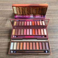 Em estoque maquiagem sombra sombra de boa qualidade 12 moda cor paleta de sombra fosco impermeável pó