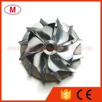 TA31 40.14 / 60.25 мм 6 + 6 лопастей Турбокомпрессорное колесо заготовки / алюминий 2618 / фрезерное колесо для картриджа турбокомпрессора/CHRA / сердечник