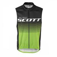 NUEVO verano Scott Sports Ropa Bicicleta Jerseys Transpirable Ciclo de Ropa Quick-Dry Bike Shirts Mans Mans Sin mangas Ciclismo Chaleco M1603