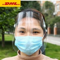 DHL ShippingTransparent Protective Mask full face shield mas...