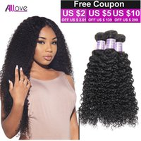 8A Indian Curly Virgin Hair 4pcs Lot Unprocessed Natural Col...