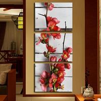 Fabrika toptan HD mürekkep püskürtmeli Modern dekoratif boyama kelebek çiçek basit ev sanat duvar