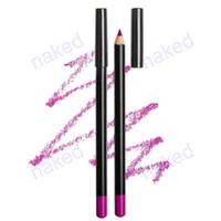 lápis de cor profunda 12 lápis aceitar seu logotipo imprimir fácil maquiagem 143 * 7 mm com caixa de fora multifunções para lábios ou sobrancelha ou delineador