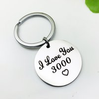 Romantic Jewelry Accessories Charms Key Chain I LOVE YOU 300...