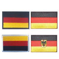 Bandeira Alemã 3D Bordado Braçadeira Militar Tático de Identificação do Soldado Moral Crachá de Camuflagem de Roupas Mochila Patch