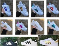 Hot Sale Fashion Men smith Casual Shoes Superstar Female Sne...