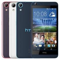 쓰자 원래 HTC 디자 이어 (626) 5.0 인치 옥타 코어 2기가바이트 RAM 16기가바이트 ROM 1300 만 화소 카메라 4G LTE 안드로이드 스마트 모바일 전화 무료 DHL의 10PCS