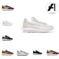 nike sacai waffle 2020 Sacai Waffle LDV Schuhe für Männer Frauen schwarz weiß Nylon Grün blau Multi Trainer Mode Sport sneaker läufer laufen Mens